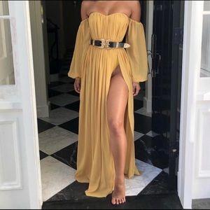 Yellow House of CB Marlena Dress